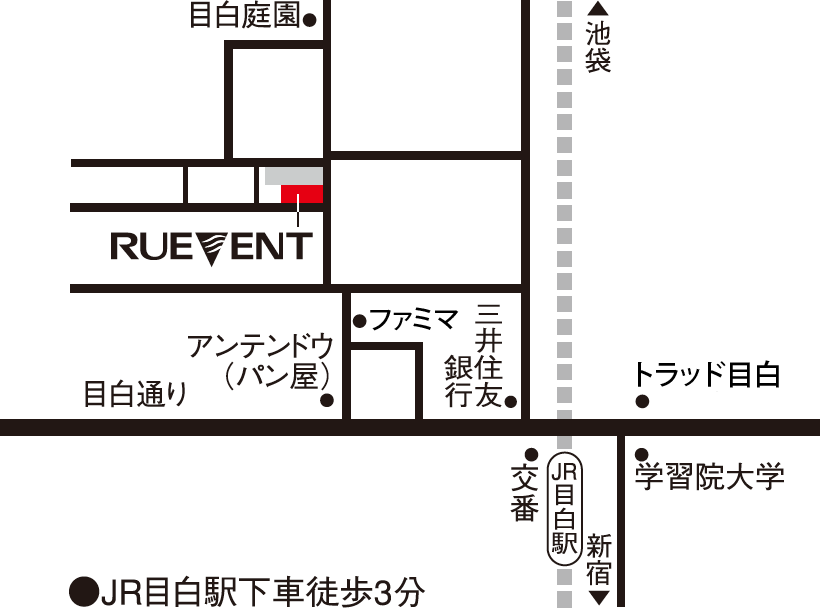 g-ruvent map